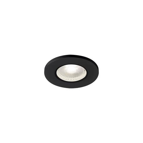 Встраиваемый светодиодный светильник SLV KAMUELA ECO 1001017, IP65, LED 4000K, черный, металл