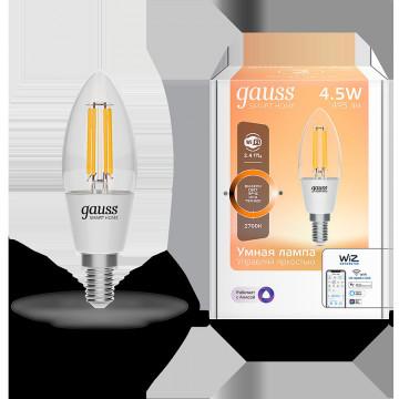 Филаментная светодиодная лампа Gauss 1230112