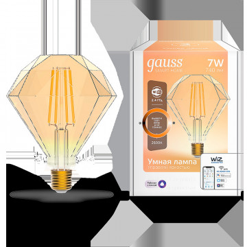 Филаментная светодиодная лампа Gauss 1350112