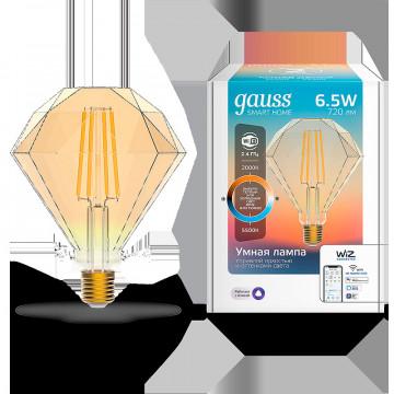 Филаментная светодиодная лампа Gauss 1370112