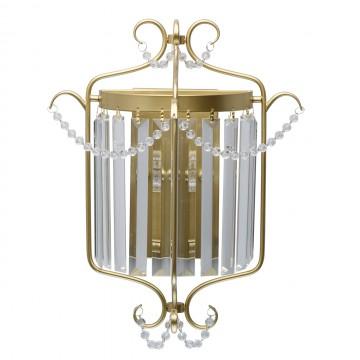 Бра MW-Light Адель 373024701, перламутровый, прозрачный, металл, хрусталь