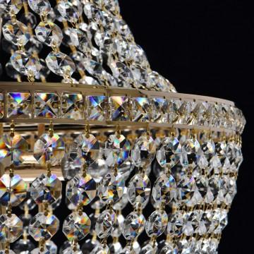 Подвесная люстра MW-Light Патриция 447011509, золото, прозрачный, металл, хрусталь - миниатюра 11
