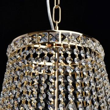 Подвесная люстра MW-Light Патриция 447011509, золото, прозрачный, металл, хрусталь - миниатюра 12