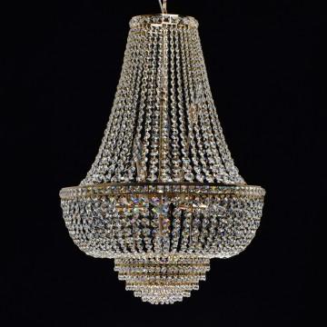 Подвесная люстра MW-Light Патриция 447011509, золото, прозрачный, металл, хрусталь - миниатюра 3