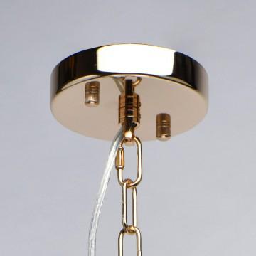 Подвесная люстра MW-Light Патриция 447011509, золото, прозрачный, металл, хрусталь - миниатюра 6
