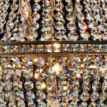 Подвесная люстра MW-Light Патриция 447011509, золото, прозрачный, металл, хрусталь - миниатюра 8