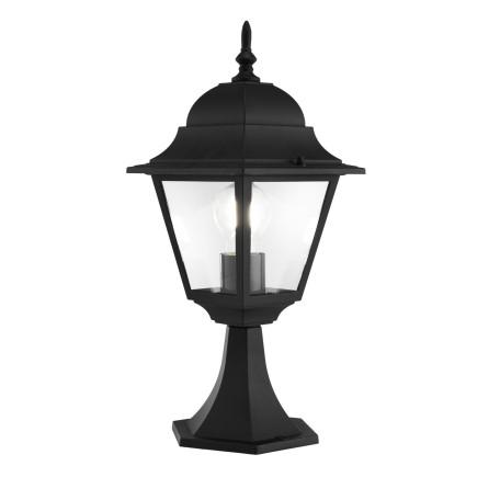 Садово-парковый светильник Maytoni Abbey Road O004FL-01B, IP44, 1xE27x60W, черный, металл, металл со стеклом, стекло с металлом
