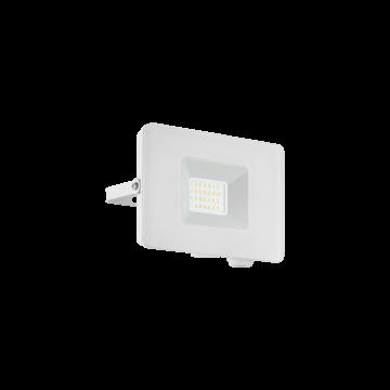 Светодиодный прожектор Eglo Faedo 3 33153, IP65, LED 20W, белый, металл, стекло