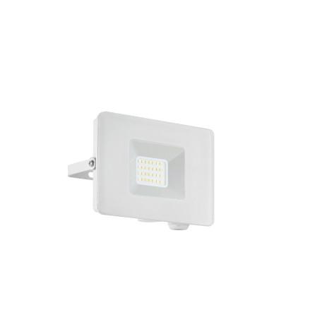 Светодиодный прожектор Eglo Faedo 3 33153, IP65, LED 20W 5000K 1800lm, белый, металл, металл со стеклом, стекло