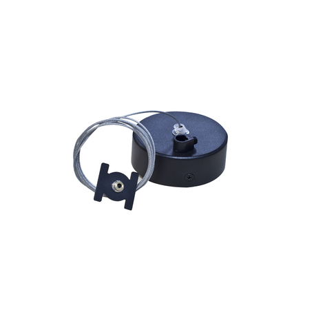 Набор для подвесного монтажа магнитной системы Donolux Magic Track Suspension kit DLM/Black1