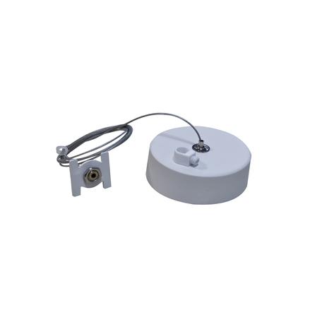 Набор для подвесного монтажа магнитной системы Donolux Magic Track Suspension kit DLM/White1