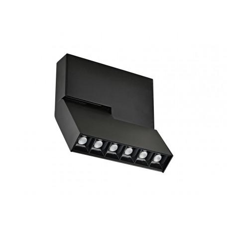 Потолочный светодиодный светильник с регулировкой направления света Donolux Eye Turn DL18786/06C Black