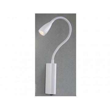 Настенный светодиодный светильник Newport 14801/A LED white (М0057269), LED 3W, белый, металл