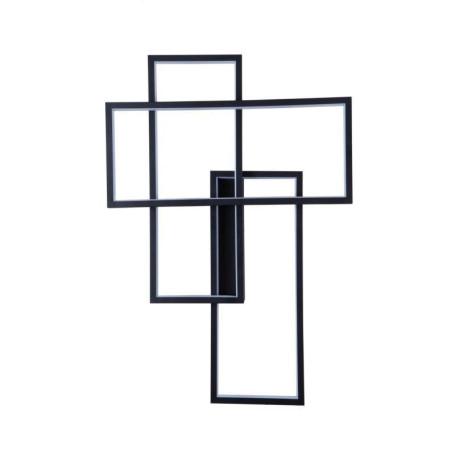 Настенный светодиодный светильник L'Arte Luce Luxury Fractal L42422, LED, металл, пластик
