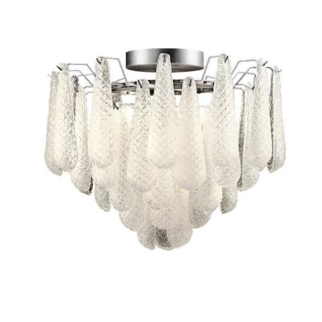 Подвесная люстра L'Arte Luce Luxury Orchis L38250.98, 9xE14x40W, металл, стекло