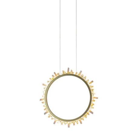 Подвесной светодиодный светильник L'Arte Luce Luxury Alone L40201, LED, металл, хрусталь