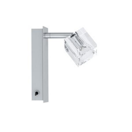 Настенный светильник с регулировкой направления света Paulmann Ice Cube 60027, 1xGU4x35W, металл, стекло