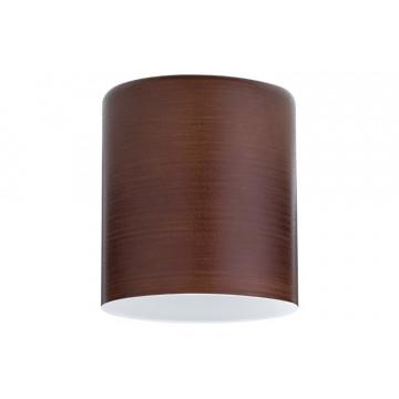 Плафон Paulmann Zyli 60006, коричневый, стекло
