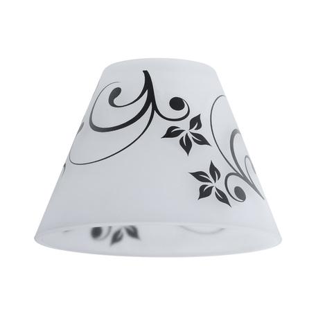 Плафон Paulmann Kegi 60014, черно-белый, черный, стекло