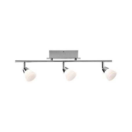 Потолочный светодиодный светильник с регулировкой направления света Paulmann Lisboa 50079, LED 13,5W, хром, белый, металл, пластик