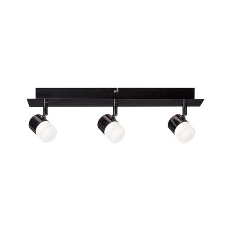 Потолочный светодиодный светильник с регулировкой направления света Paulmann Deon 50099, LED 19,5W, черный хром, металл, металл с пластиком