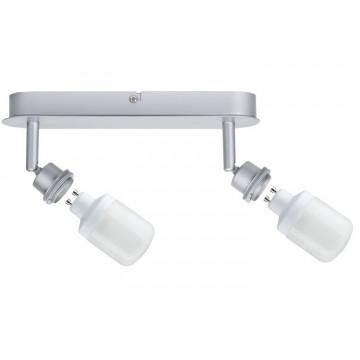 Основание потолочного светильника с регулировкой направления света Paulmann DecoSystems 60022, 2xGZ10x9W, металл