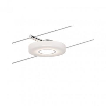 Светодиодный светильник для тросовой системы Paulmann Set DiskLED I 50113, LED 4W, хром, белый, металл, пластик