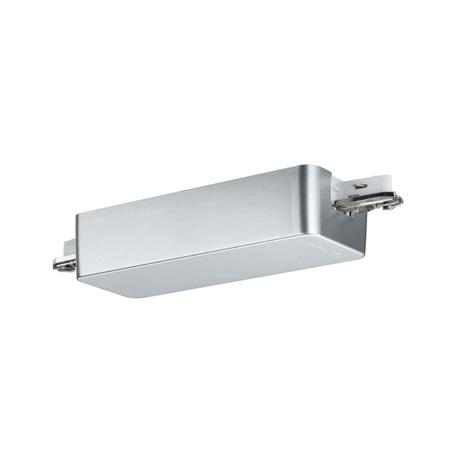 Вставной выключатель для отрезка шины Paulmann Urail Bluetooth Dimm/Switch 50116, матовый хром, пластик