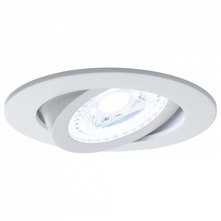 Встраиваемый светодиодный светильник Paulmann Nova Plus Lens RGBW 50065, LED 4,8W, металл