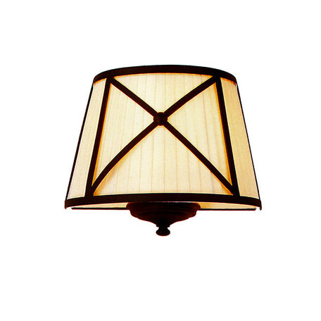Настенный светильник L'Arte Luce Torino L57722.88, 2xE14x60W, металл, текстиль