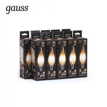 Филаментная светодиодная лампа Gauss 104801109, сталь - миниатюра 2