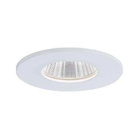 Встраиваемый светодиодный светильник Paulmann Calla 93670, IP65, LED 7W, белый, металл