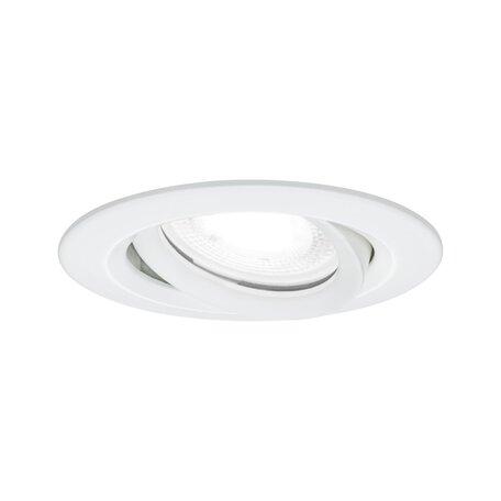 Встраиваемый светильник Paulmann Nova Plus IP65 93672, IP65, 1xGU10x6W, белый, металл