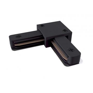 L-образный соединитель для шинопровода Maytoni TRA001CL-11B, черный, пластик