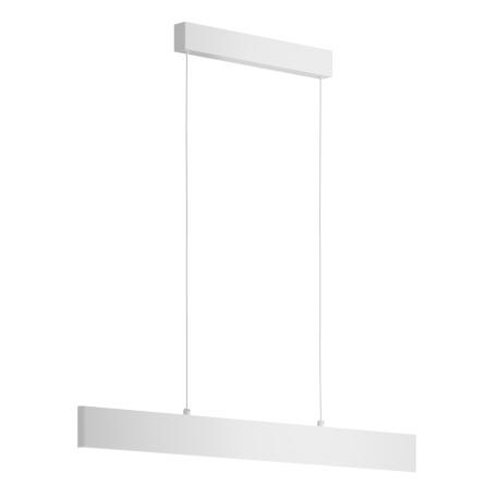 Подвесной светодиодный светильник Maytoni Step P010PL-L23W, LED 23W 3000K (теплый), белый, металл