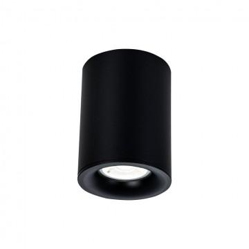 Потолочный светильник Maytoni Alfa C012CL-01B, 1xGU10x50W, черный, металл