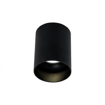 Потолочный светильник Maytoni Alfa C014CL-01B, 1xGU10x50W, черный, металл
