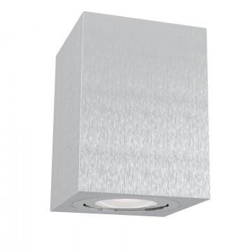 Потолочный светильник Maytoni Technical Alfa C017CL-01S, 1xGU10x50W, серебро, металл