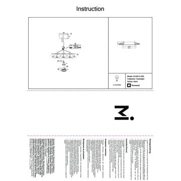 Встраиваемый светильник Maytoni Atom DL024-2-03S, серебро, металл