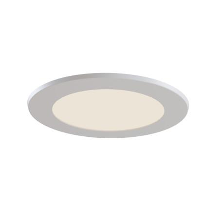 Светодиодная панель Maytoni Stockton DL015-6-L7W, IP44, LED 7W 2800-6000K 750lm CRI83, белый, пластик