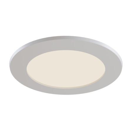 Светодиодная панель Maytoni Stockton DL016-6-L12W, IP44, LED 12W 2800-6000K 1100lm CRI83, белый, пластик