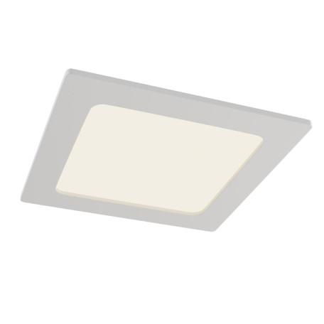Светодиодная панель Maytoni Technical Stockton DL020-6-L12W, IP44, LED 12W 2800-6000K 1000lm CRI83, белый, пластик