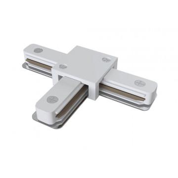 T-образный соединитель для шинопровода Maytoni Accessories for tracks TRA001CT-11W, белый, пластик