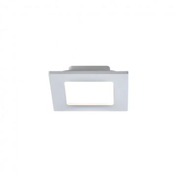 Встраиваемая светодиодная панель Maytoni Stockton DL019-6-L9W, IP44 2800-6000K, белый, пластик