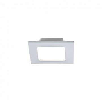 Встраиваемая светодиодная панель Maytoni Stockton DL019-6-L9W, IP44, LED 9W 2800-6000K, белый, пластик