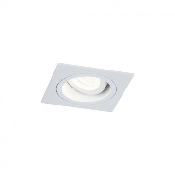 Встраиваемый светильник Maytoni Akron DL026-2-01W, 1xGU10x50W, белый, металл