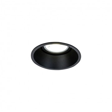 Встраиваемый светильник Maytoni Dot DL028-2-01B, 1xGU10x50W, черный, металл