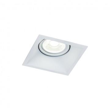 Встраиваемый светильник Maytoni Dot DL029-2-01W, 1xGU10x50W, белый, металл
