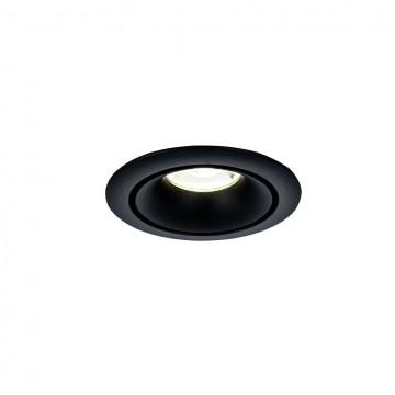 Встраиваемый светильник Maytoni Yin DL030-2-01B, 1xGU10x50W, черный, металл