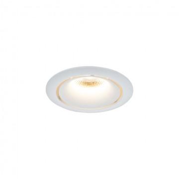 Встраиваемый светильник Maytoni Zoom DL031-2-L12W 3000K (теплый), белый, металл